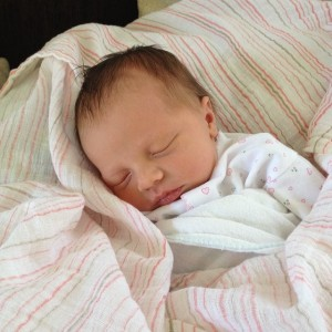 Aww, Elisabeth Grace - my great-niece. Isn't she precious?